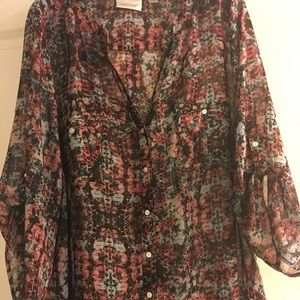 Plus size blouse by the Avenue